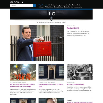 10 Downing Street - David Cameron