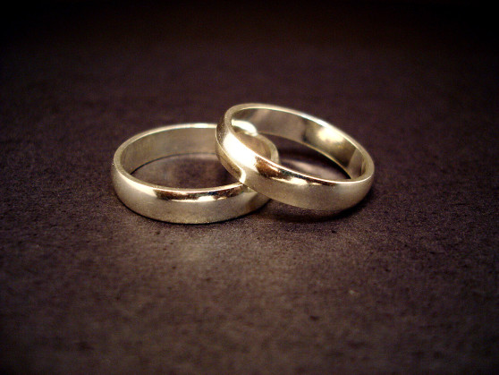 Monogamy (photo of two wedding rings)